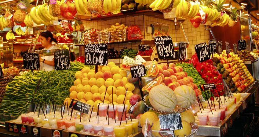 Mc garlet frutta esotica la boqueria barcellona