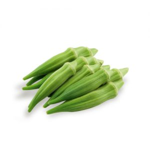 exotic fruit okra mc garlet