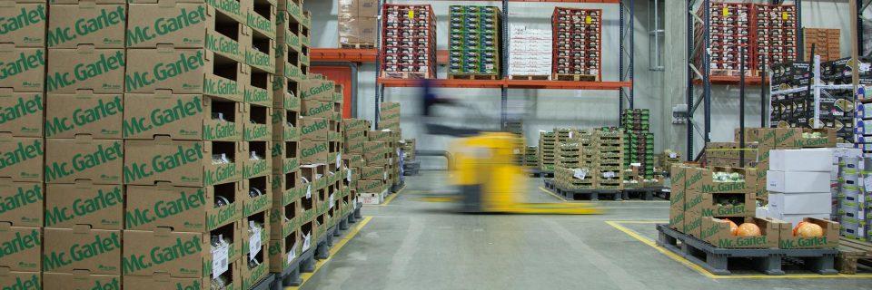 Control de la cadena de suministros desde  el productor hasta el consumador