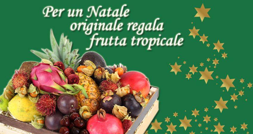Estremamente Cesti di frutta esotica per Natale 2017 | McGarlet QH28