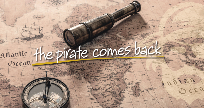 The pirate comes back