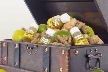 Puro: estratto 100% naturale lime zenzero e curcuma